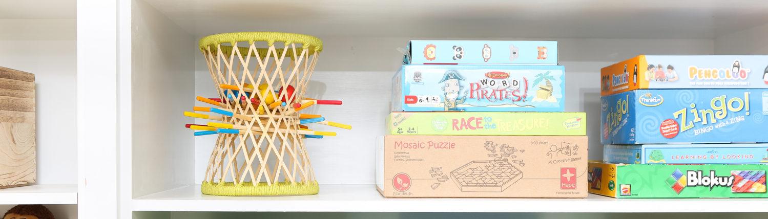 Organized Playroom Toys