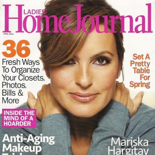 Cover of Ladies Home Journal with Mariska Hargitay